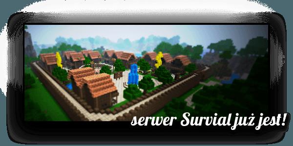 Minecraft serwer survival