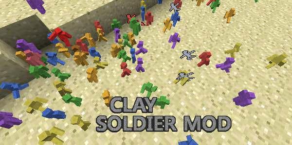 Minecraft Clay Soldier Modyfikacja