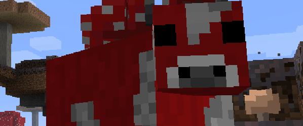 Minecraft Grzybowa Krowa