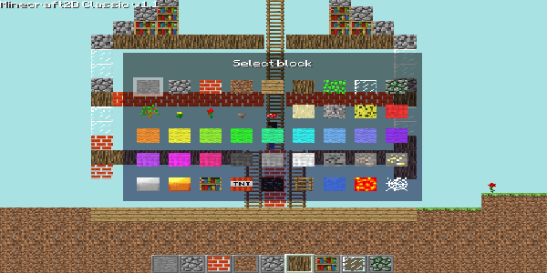 Minecraft-2D-Classic