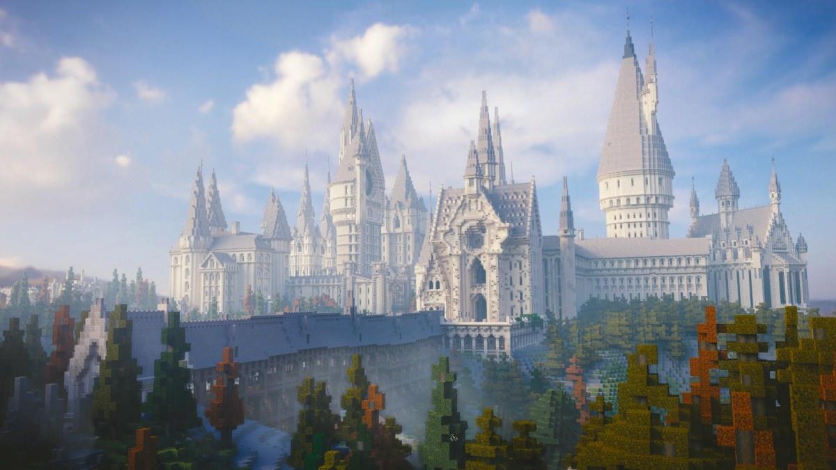 minecraft how to make hogwarts